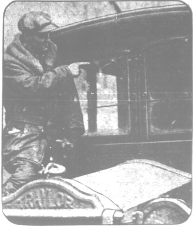 """Следи от изстрели на """"снайпера-фантом"""" са намерени доста отдавна  Фото: Уфоцентр"""