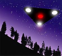 UFO - Black triangle