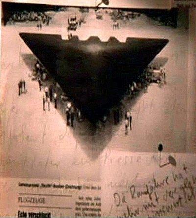 secret triangle UFO