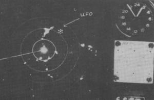 radar UFO 1954