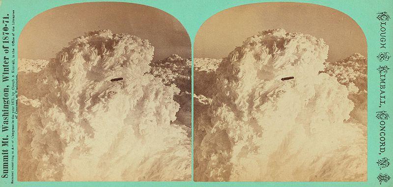 НЛО над планината във Вашингтон, САЩ - 1870 г.