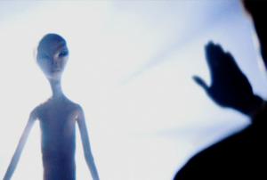 """""""Близки срещи от третия вид"""" - откъс от филма"""