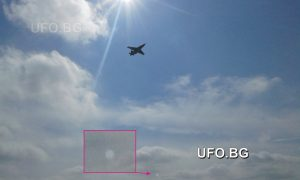 Оптичен ефект при снимането срещу слънцето