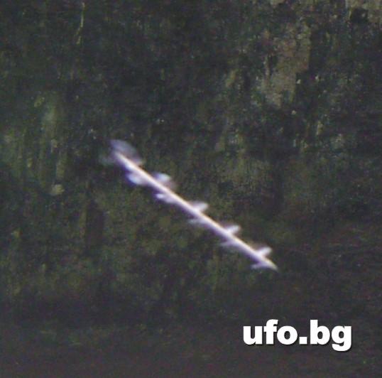"""Мистериозна """"стрела"""" заснета до врачанско село"""