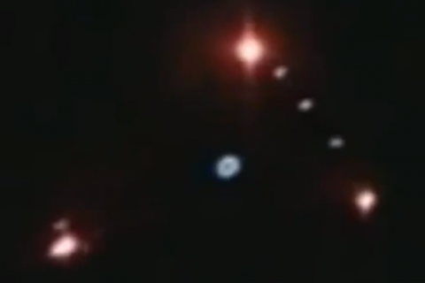 Огромно черно триъгълно НЛО над Бургас