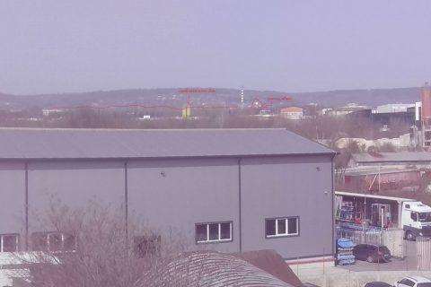 НЛО над Варна 27 март 2020 г. - 1